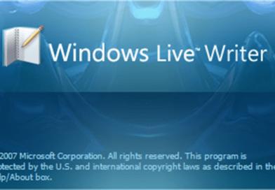 Windows Live Writer – пошаговое руководство
