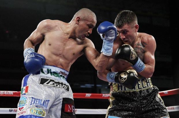 Boxing: Orlando Salido vs Vasyl Lomachenko