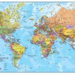 Карты Мира в разных странах