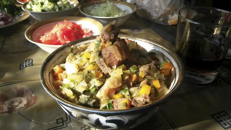 Лагман по узбекский рецепт в домашних условиях 142