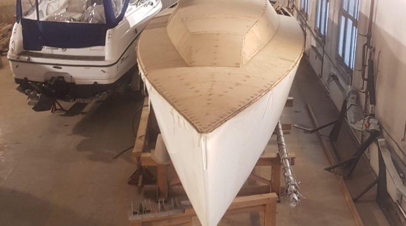 Наконец купил недостроенный проект лодки!