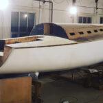 Состояние строительства моей яхты на 20.08.2020