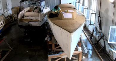 Сериал о строительстве моей яхты Didi-40cr